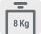 Capacitate de spalare 8 kg