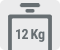 Capacitate de spalare 12 kg