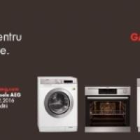 5 ani garantie pentru toate produsele electrocasnice AEG