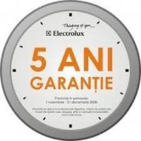 5 ani garantie Zanussi, Electrolux si AEG