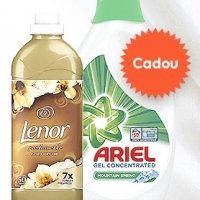 Ariel&Lenor cadou la masini de spalat rufe Electrolux si AEG