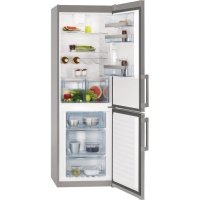 Combina frigorifica AEG S53620CTX2, 60 cm, inox, clasa A++, LCD, dezghetare automata, Frost Free congelator