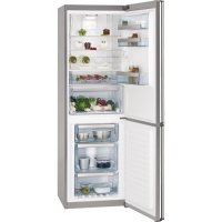 Combina frigorifica AEG S83520CMX2, 60 cm, inox, clasa A++, LCD, dezghetare automata, Frost free congelator