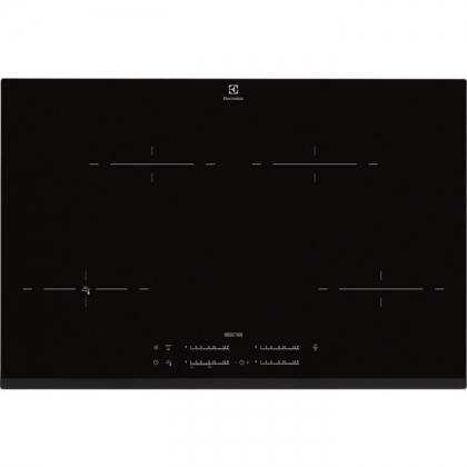 Plita incorporabila cu inductie Electrolux EHR8540FHK, 78 cm, functie Stop&Go, Booster, conectivitate hota