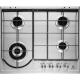 Plita incorporabila pe gaz Electrolux EGH6243BOX, 60 cm, inox, arzator Wok