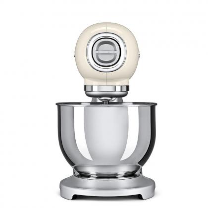Mixer Smeg SMF01CREU, crem, retro, 10 viteze, 800 W