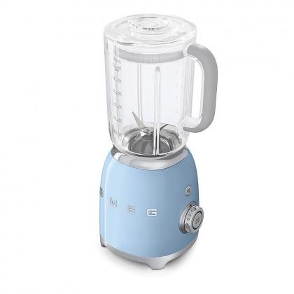 Blender Smeg BLF01PBEU, albastru, retro, 800 W