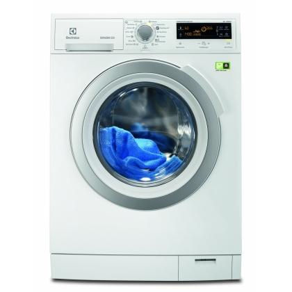 Masina de spalat rufe Electrolux EWF1497CDW2, 9 kg, clasa A+++-50%, motor EcoInverter cu magnet permanent, premixare detergent si balsam