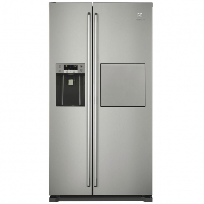 Combina frigorifica Side by Side Electrolux EAL6142BOX, No Frost, usa inox, clasa A+, acces bar