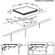 Plita incorporabila cu inductie pe toata suprafata Electrolux EHL6740FOK, 60 cm, Bridge