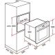 Cuptor incorporabil electric Teka HS 625, 5 programe, inox