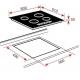 Plita incorporabila inductie Teka IRF 641, 60 cm, 2 zone Flex