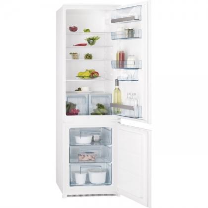 Combina frigorifica incorporabila AEG SCS51800S1, 54 cm, clasa A+