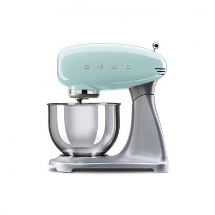 Mixer Smeg SMF01PGEU, verde, retro, 10 viteze, 800 W