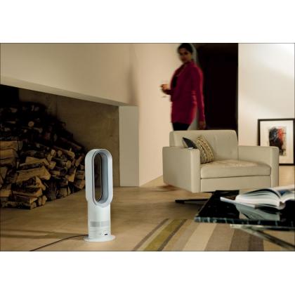 Aeroterma si ventilator Dyson AM09 HOT&COOL, telecomanda