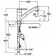 Baterie de bucatarie Teka MTP 978 Granit Schwarzmetallic, extractibil