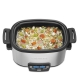 Slow cooker Cuisinart MSC600E, 1240 W, 5.7 l capacitate