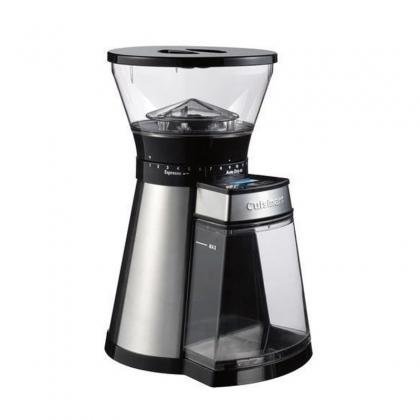Rasnita electrica de cafea Cuisinart DBM18E, 160 W, recipient 250 g, inox
