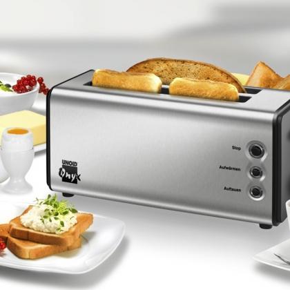 Prajitor de paine Unold Onyx Duplex U38915, 2 slot-uri