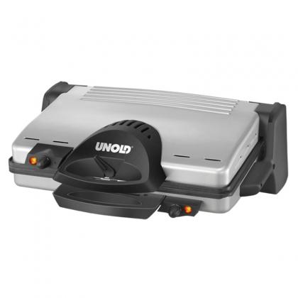 Gratar electric Unold U8555, 2100 W, argintiu
