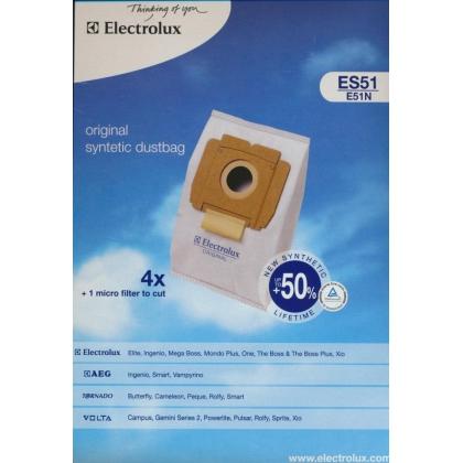 Set Electrolux ES51, 4 saci aspirator + microfiltru