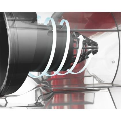 Aspirator fara sac Electrolux Z9910EL, 800 W, rosu, perie parchet