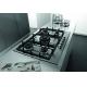 Plita incorporabila pe gaz Whirlpool GMF 7522 IXL, 70 cm, inox, wok, gratare fonta