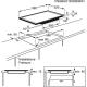 Plita incorporabila inductie Electrolux EHX6455FHK, 60 cm, FlexiBridge, Booster, Stop&Go, Hob2Hood