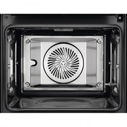 Cuptor incorporabil electric cu aburi Sous Vide Electrolux EOB9956XAX, 125 retete predefinite, proba de carne, ghidaj telescopic, inox