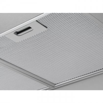 Hota semineu Electrolux EFF90560OX, 90 cm, inox, conectivitate plita