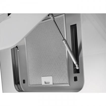 Hota de perete Electrolux EFV80464OW, 80 cm, sticla alba
