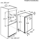 Congelator incorporabil sub blat Electrolux EUN1000AOW, static, clasa A+