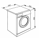 Masina de spalat rufe cu uscator Smeg WDF14C7, 7+4 kg