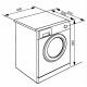 Masina de spalat rufe Smeg WHT914LSIN, 9 kg, clasa A+++, inverter, aburi