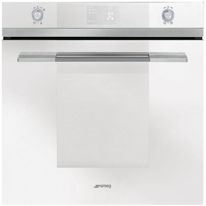 Cuptor incorporabil electric Smeg Linea SF130BE, 60 cm, alb, Vapor Clean