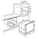 Cuptor incorporabil electric Smeg Linea SF130BE, 60 cm, alb, Vapor Clean