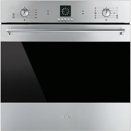 Cuptor incorporabil electric Smeg Classic SF6399XP, 60 cm, inox, Vapor Clean