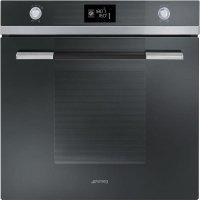 Cuptor incorporabil electric Smeg Linea SF122NE, 60 cm, negru, Vapor Clean