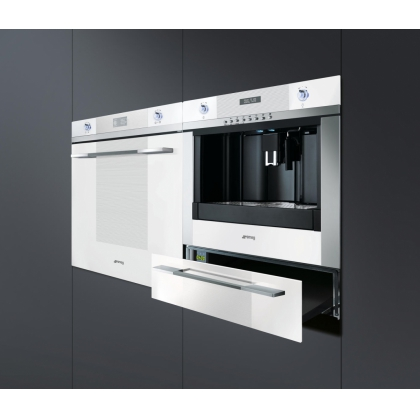 Cuptor incorporabil electric Smeg Linea SF122BE, 60 cm, alb, Vapor Clean