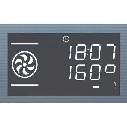 Cuptor incorporabil electric Smeg Linea SF122E, 60 cm, inox, Vapor Clean