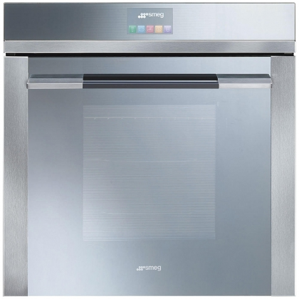 Cuptor incorporabil electric Smeg Linea SF140E, 60 cm, inox, Vapor Clean, display TFT color