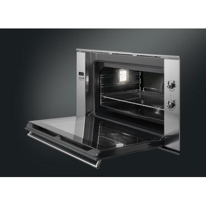 Cuptor incorporabil electric Smeg Classic SF9310XR, 90 cm, inox, Vapor Clean