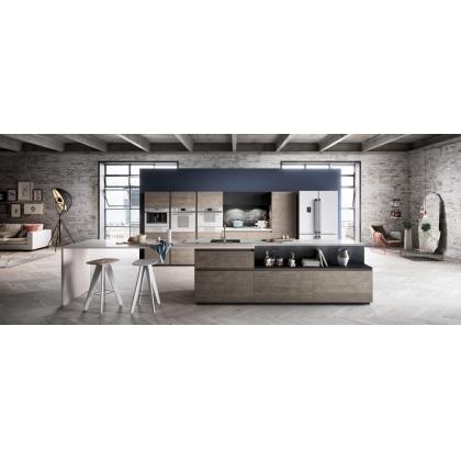 Cuptor incorporabil compact combinat Smeg Linea SF4120MCB, alb, electric si microunde, Vapor Clean