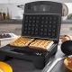 Gratar electric Cuisinart GR17E, 700 W, 3 seturi placi