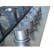 Plita incorporabila pe gaz Pyramis Smartline SH7500, 70 cm, inox, fonta, wok