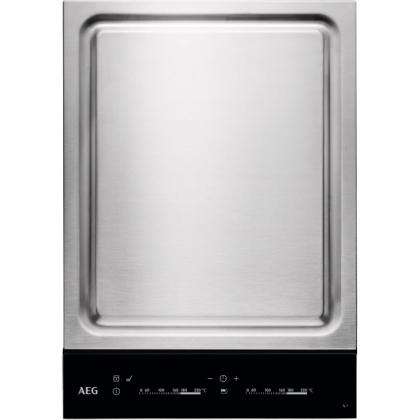 Plita incorporabila Teppan Yaki AEG HC452601EB, 36 cm