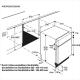 Masina de spalat vase partial incorporabila AEG F56352IM0, 60 cm, 13 seturi, inverter, 6 programe, A+++