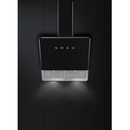 Hota Smeg KFAB75BL, 75 cm, retro, neagra