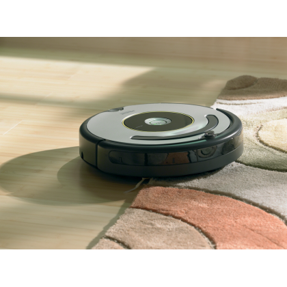 Aspirator inteligent iRobot Roomba 616, baterie XLife, Antitangle, navigatie iAdapt, 90 mp