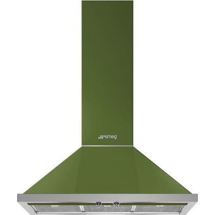 Hota semineu Smeg Portofino KPF9OG, 90 cm, verde